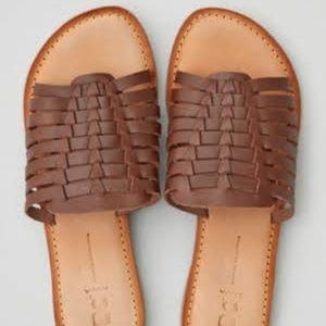 TOMKAT Open Toe Slide Sandal BC Footwear - Brown